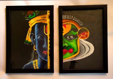 Kathakali and Krishna Slider 1/3