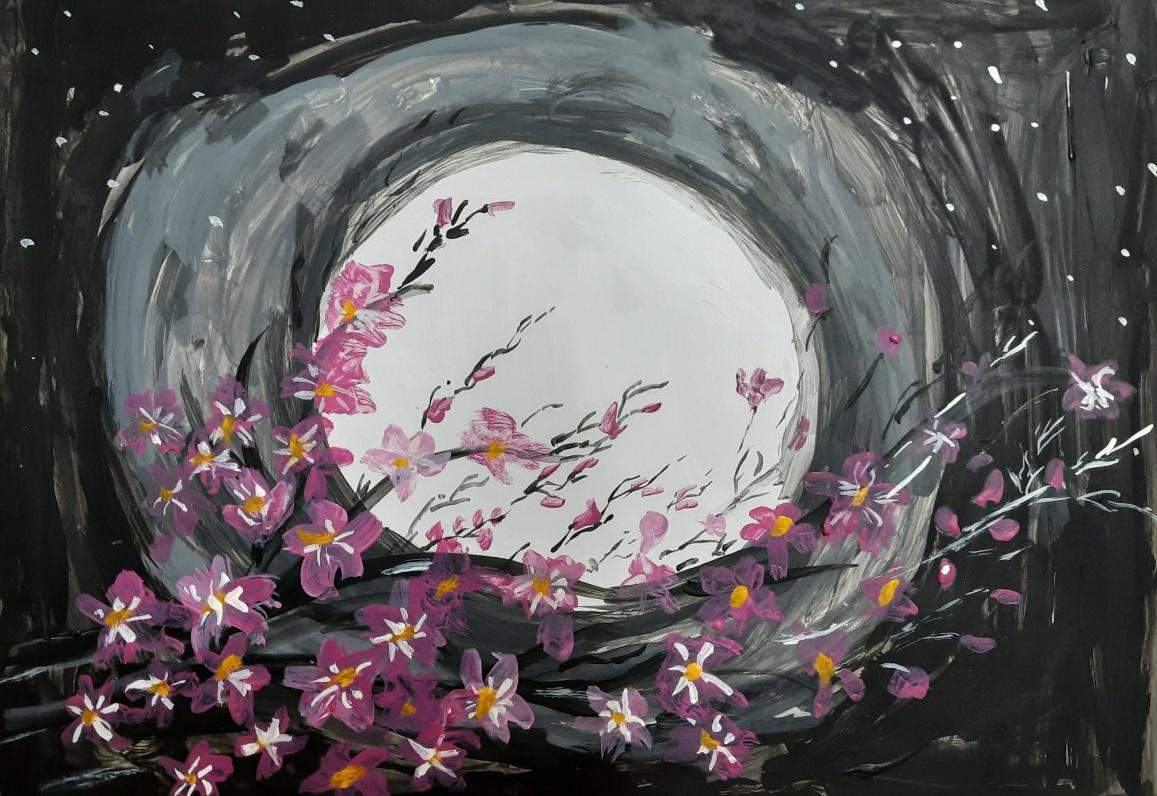 Moony Flower Shower Slider 1/1