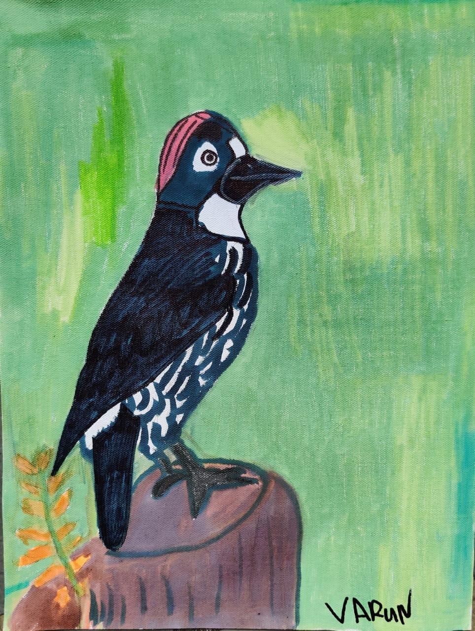 Pine Woodpecker Slider 1/3