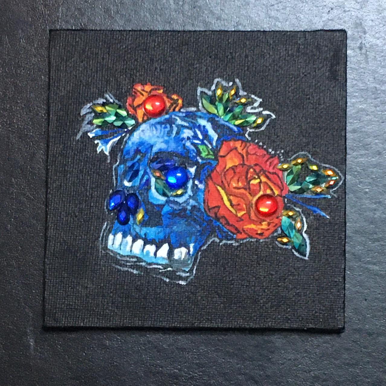Skull &  Flowers Slider 1/3