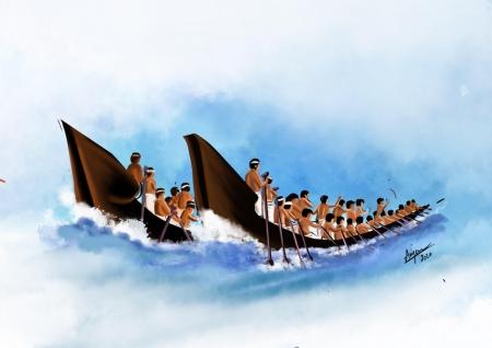 Vallam Kali (Snake boat race) Slider 1/2