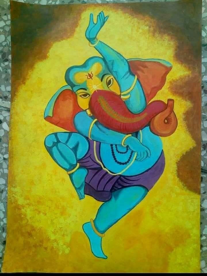 Dancing Ganesha Slider 1/2