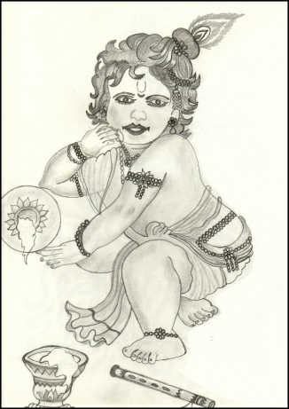 Baby Krishna Slider 1/1