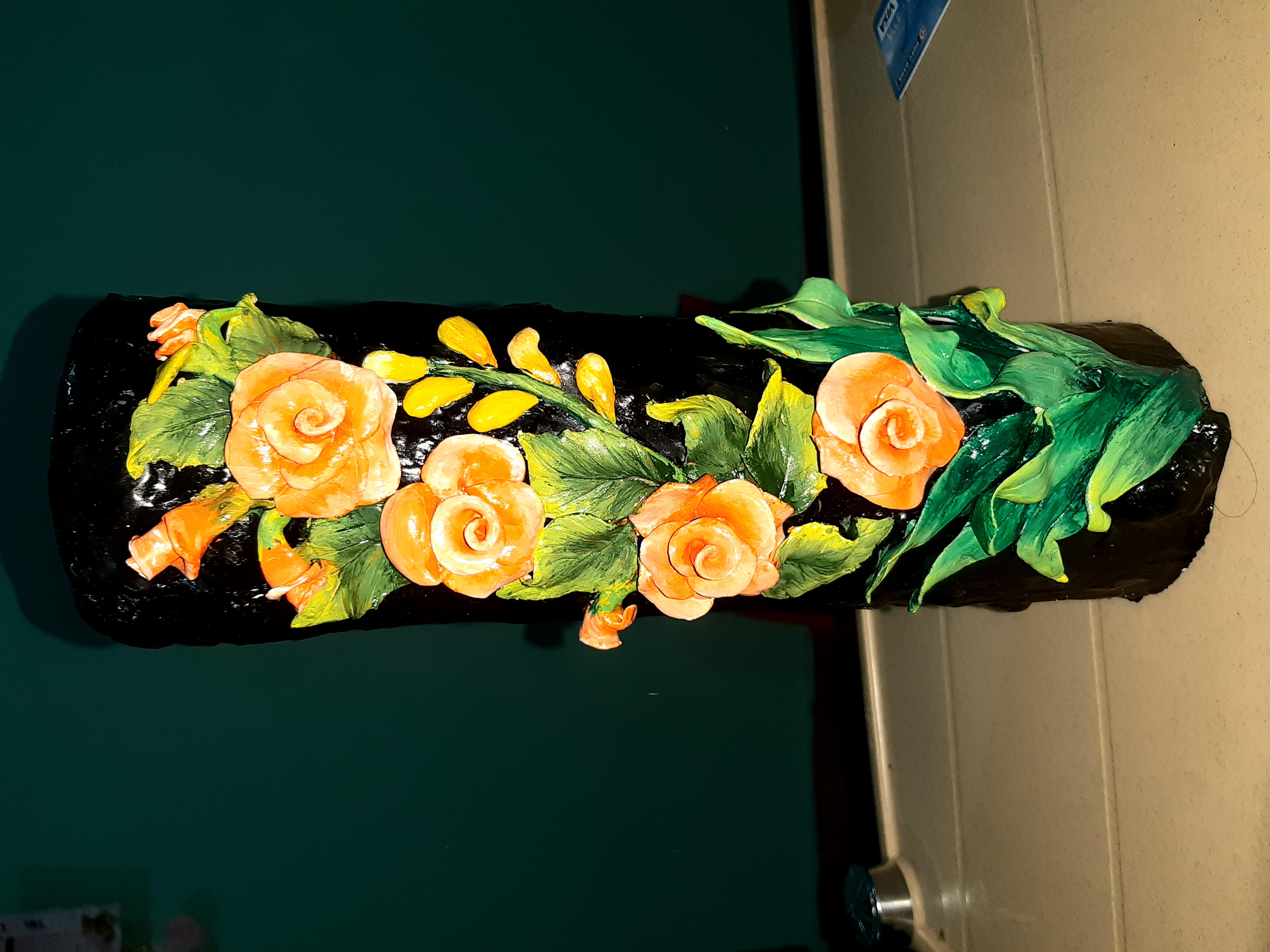 Flower clay pot Slider 1/3