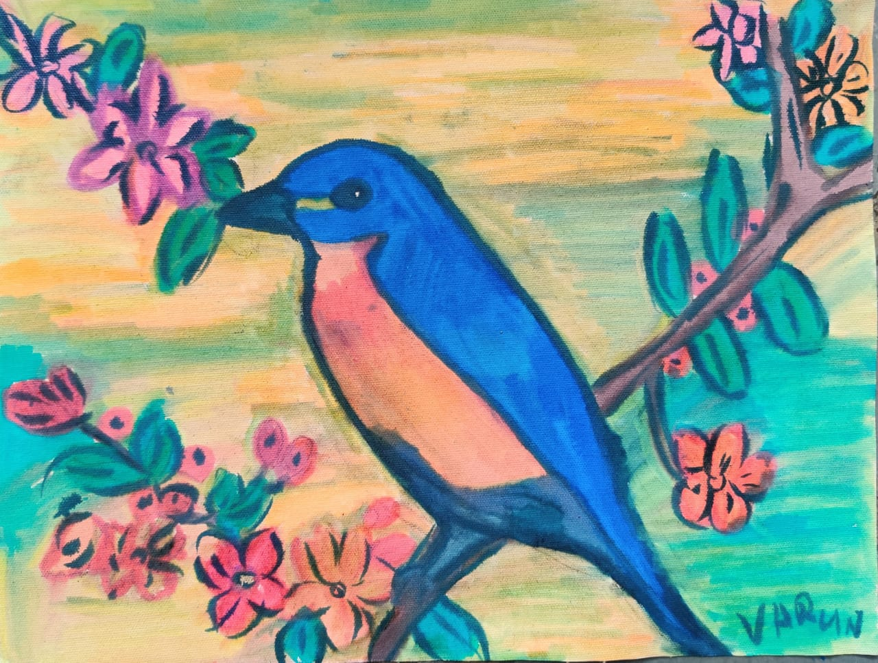 Eastern Blue bird Slider 1/3