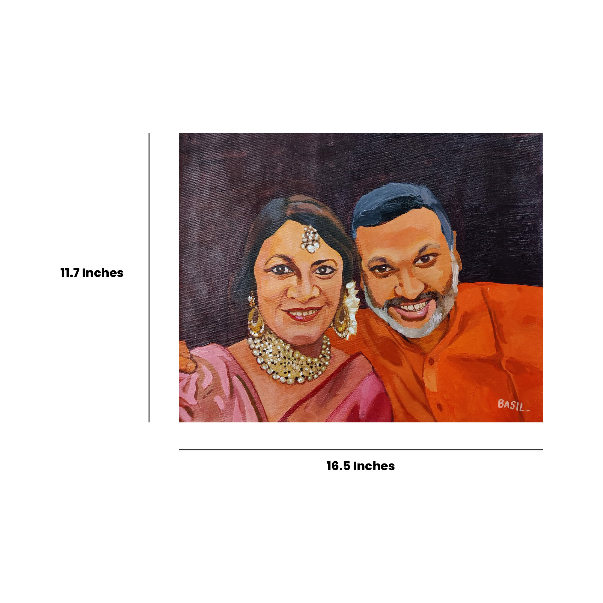 Acrylic Painting Portrait Slider 2/5