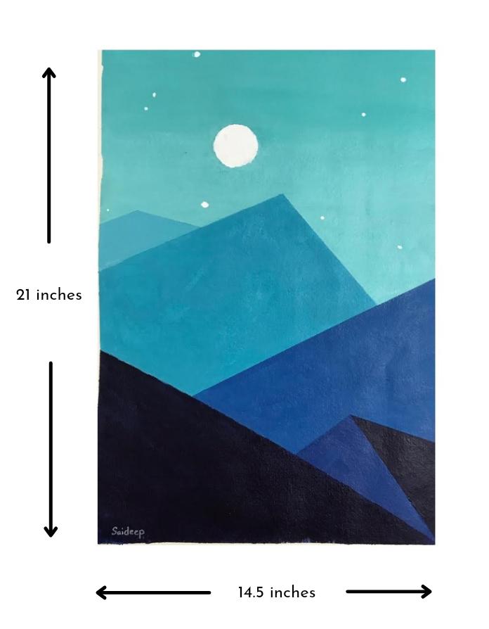 Lunar Mount Slider 3/4
