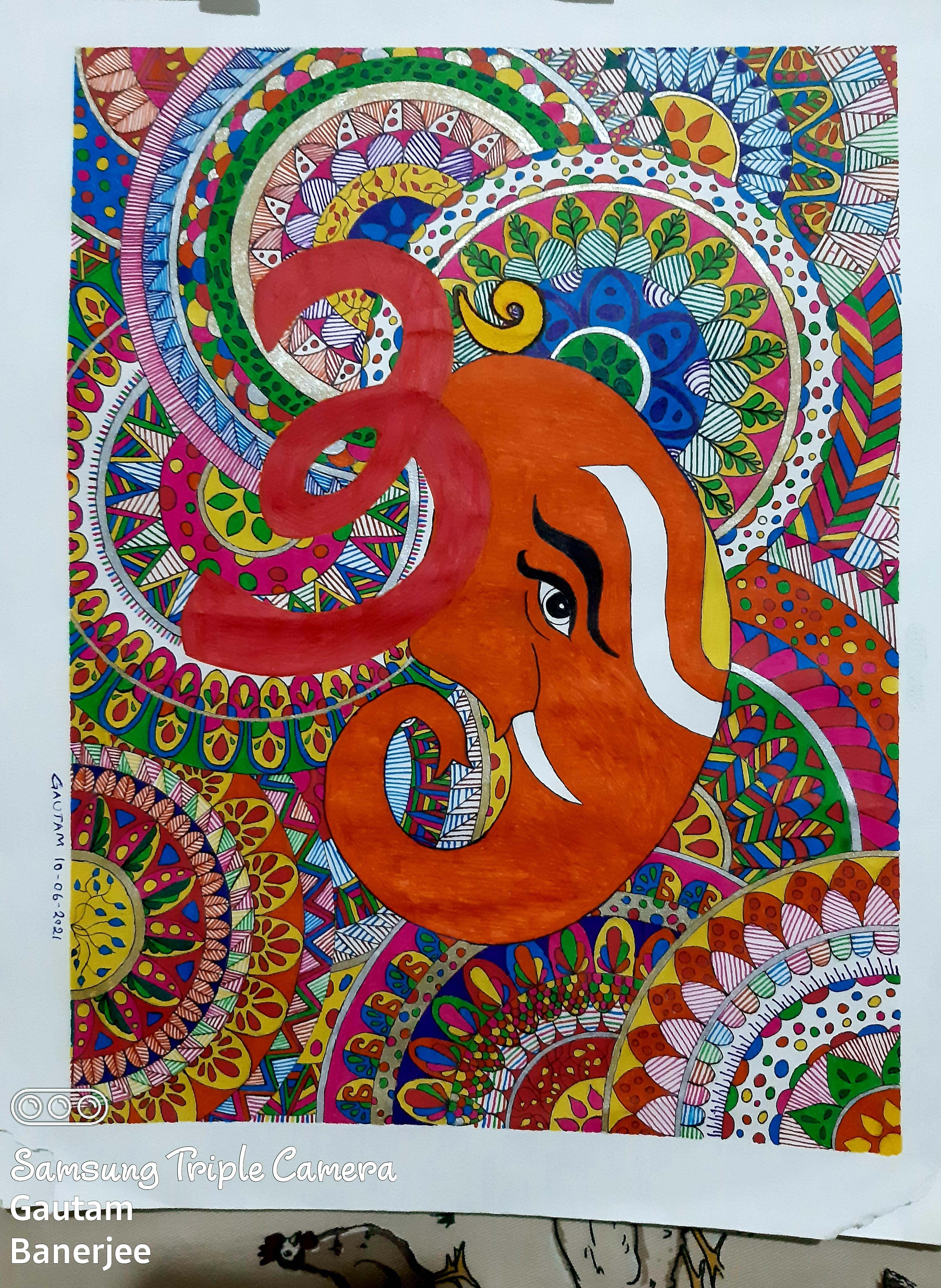 Ganesha & 10 Mandalas Slider 1/2