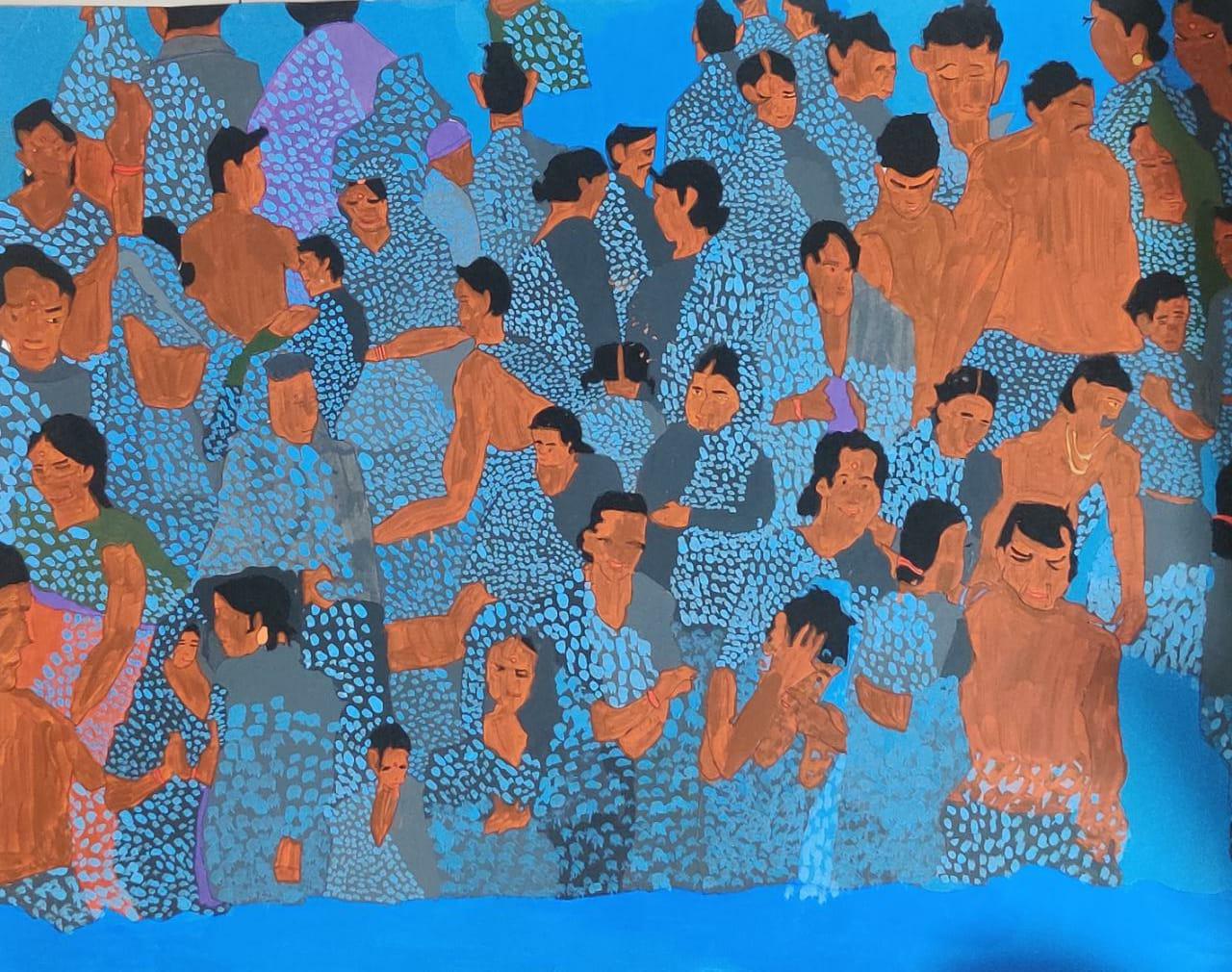 Holy Bath at Ganga Slider 1/1