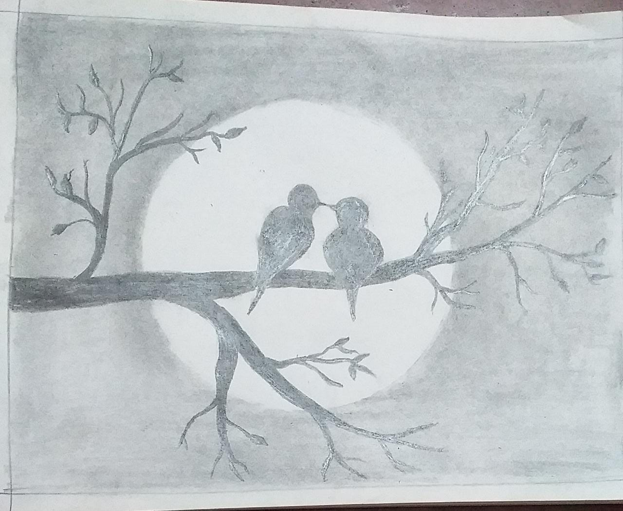 Scenery of moonlight Slider 1/1