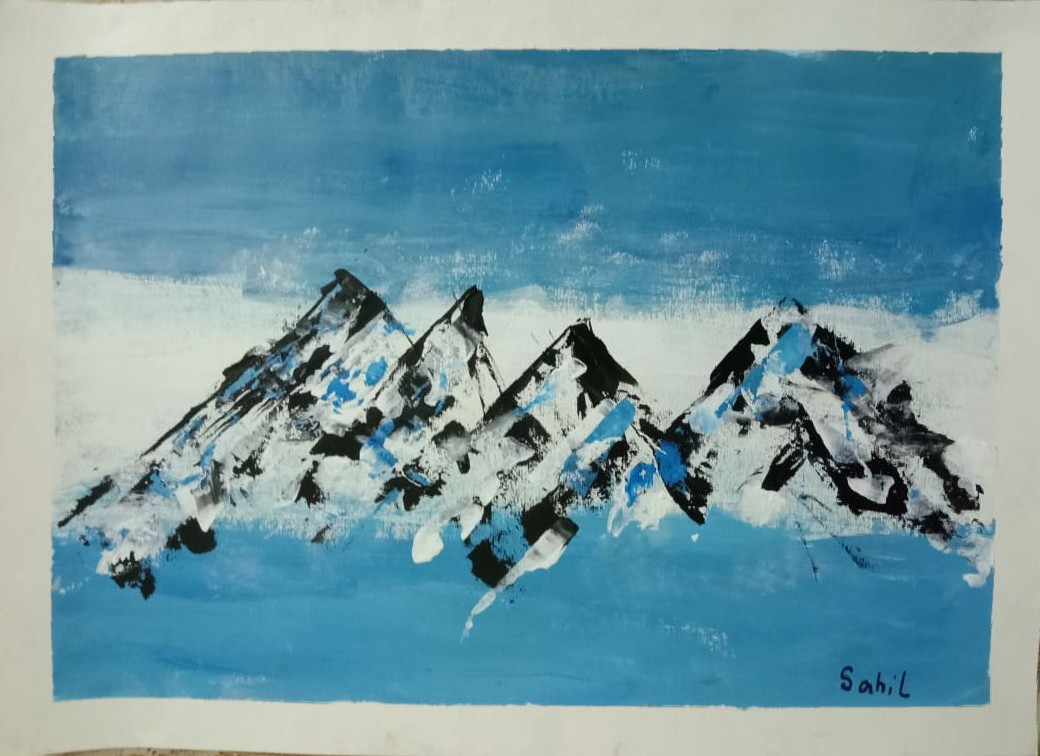 Snow Capped mountains Slider 1/3
