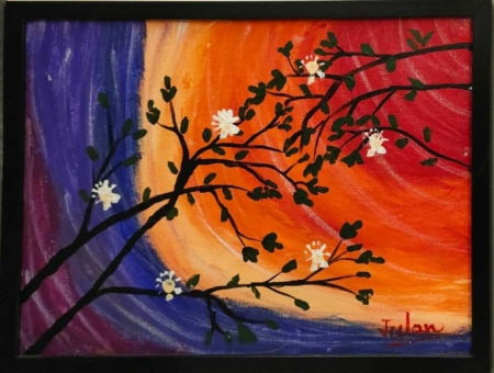Blooming Flowers in Sunshine Slider 1/3