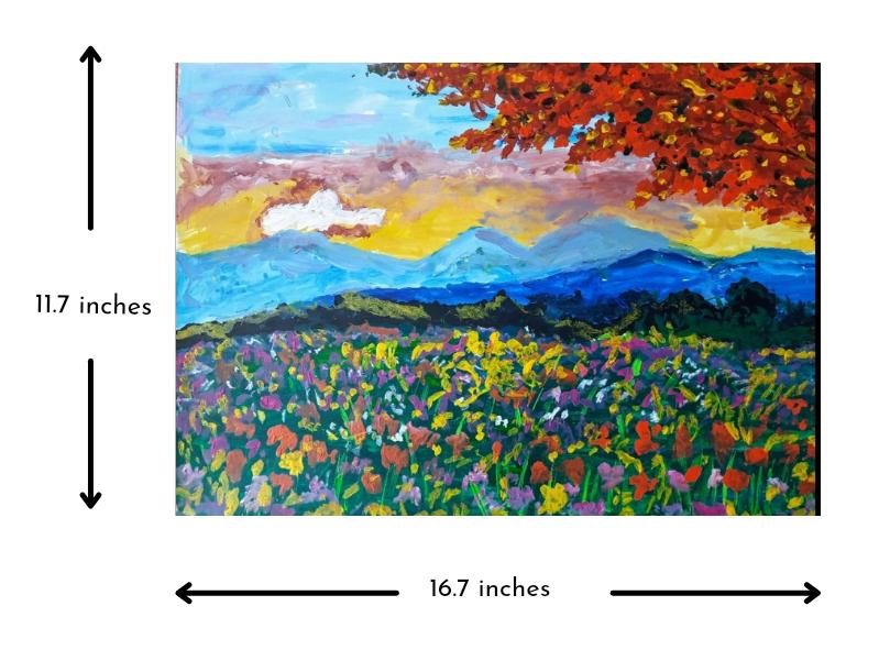 Flowering Valley Slider 3/4