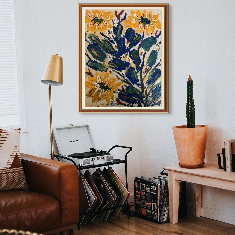 Flowers on Cactus Slider 2/3