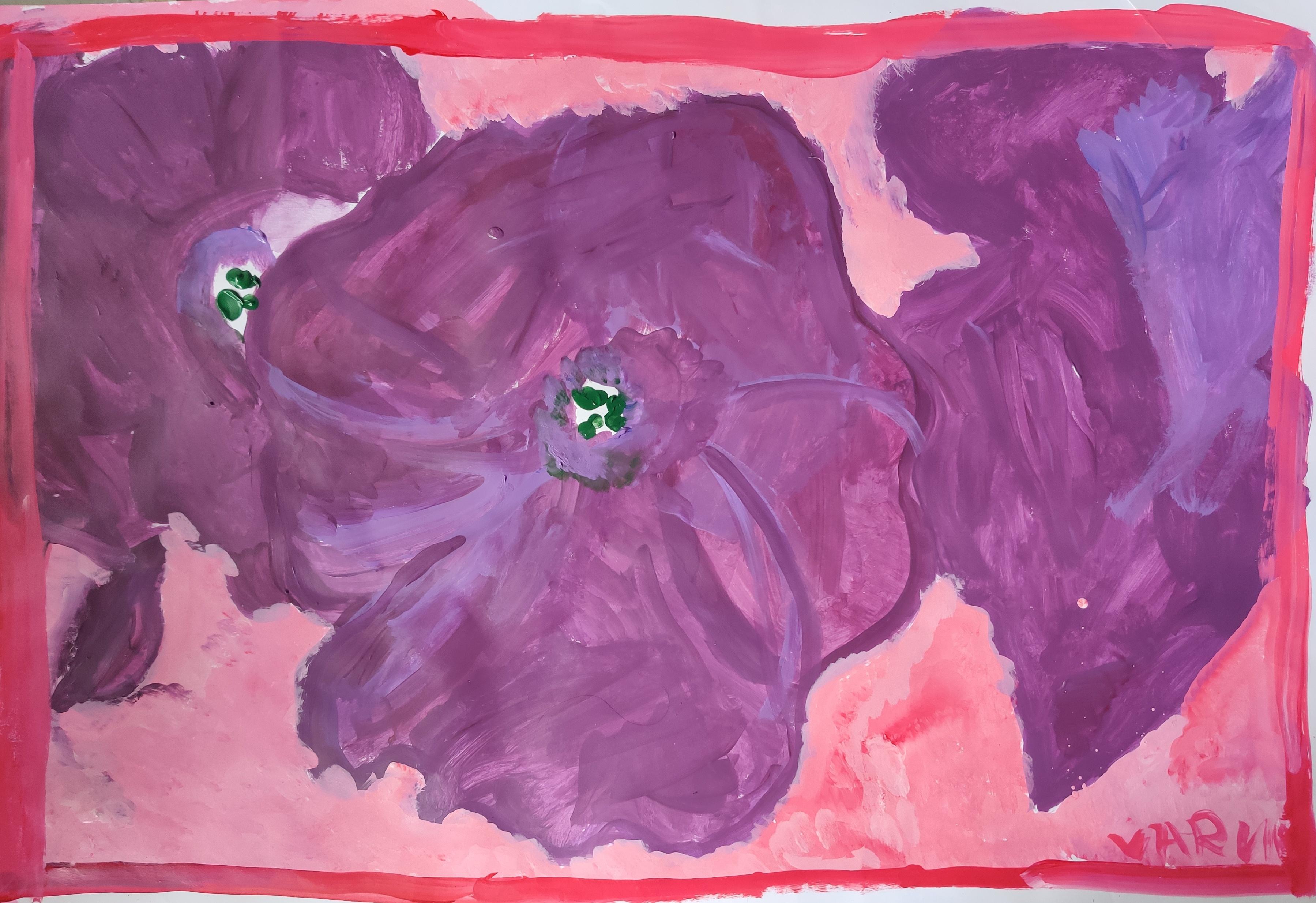 Purple Petunias Slider 1/1