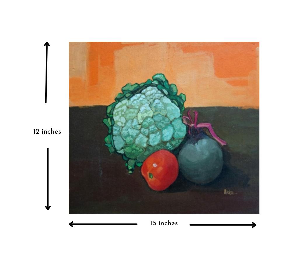 Cauliflower, Beetroot and Tomato Slider 3/4