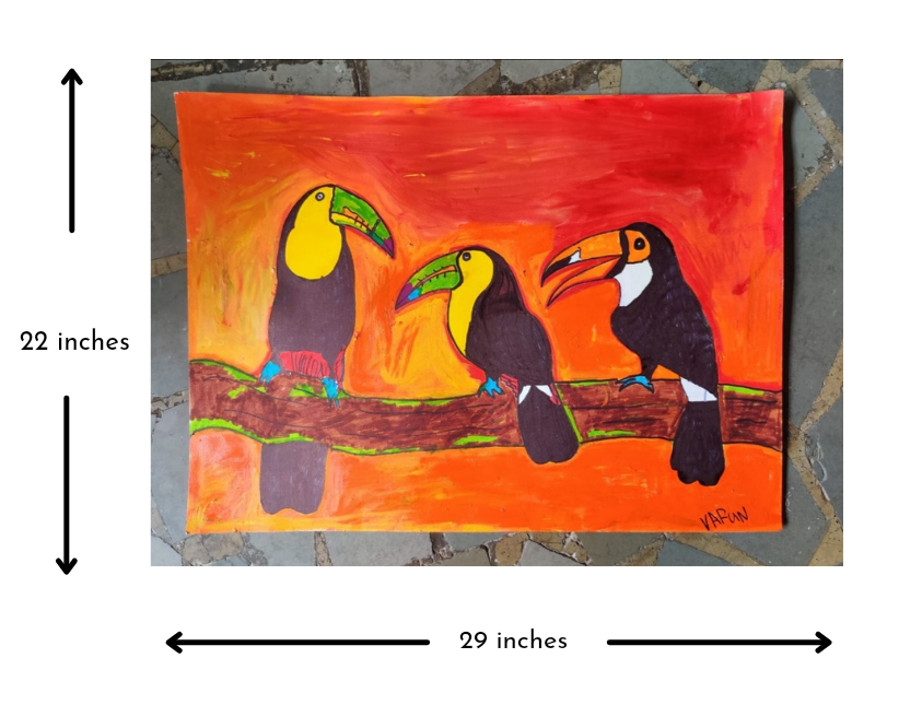 Toucans in a meeting Slider 3/4