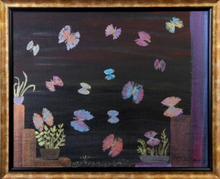 Glowing Butterflies Slider 1/1