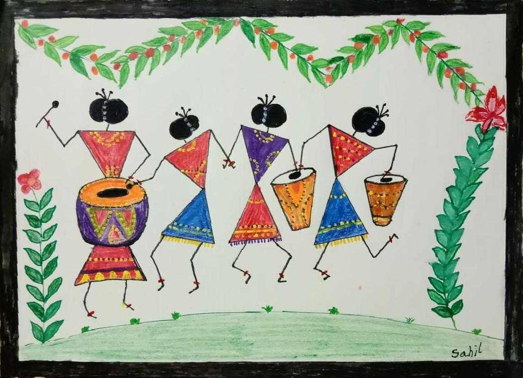 Warli Celebration Slider 1/1