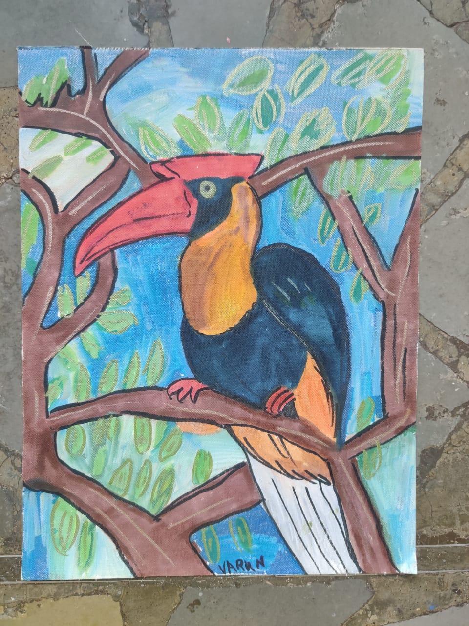 Red Hornbill Slider 1/3