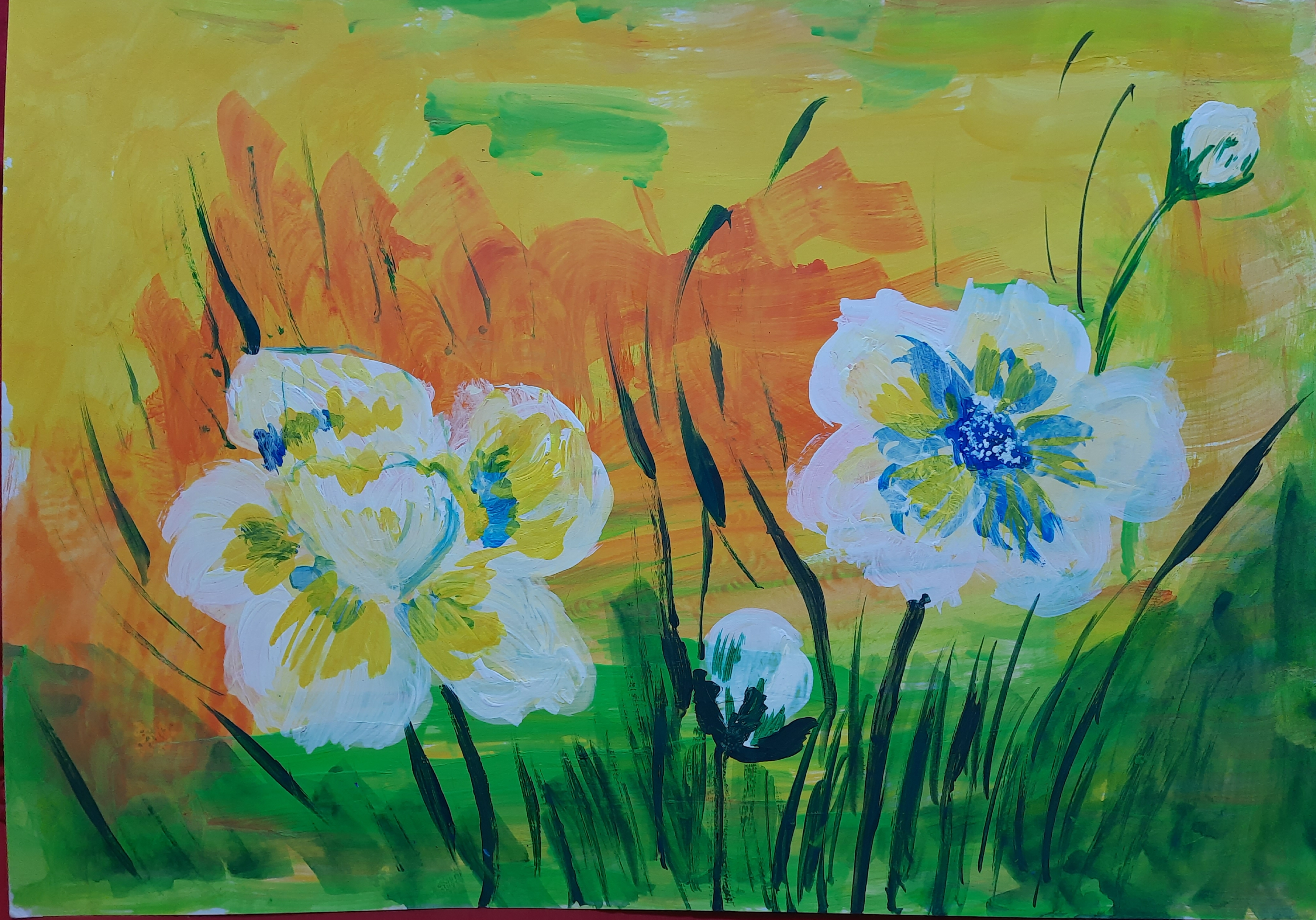 Summer Flowers Slider 1/1
