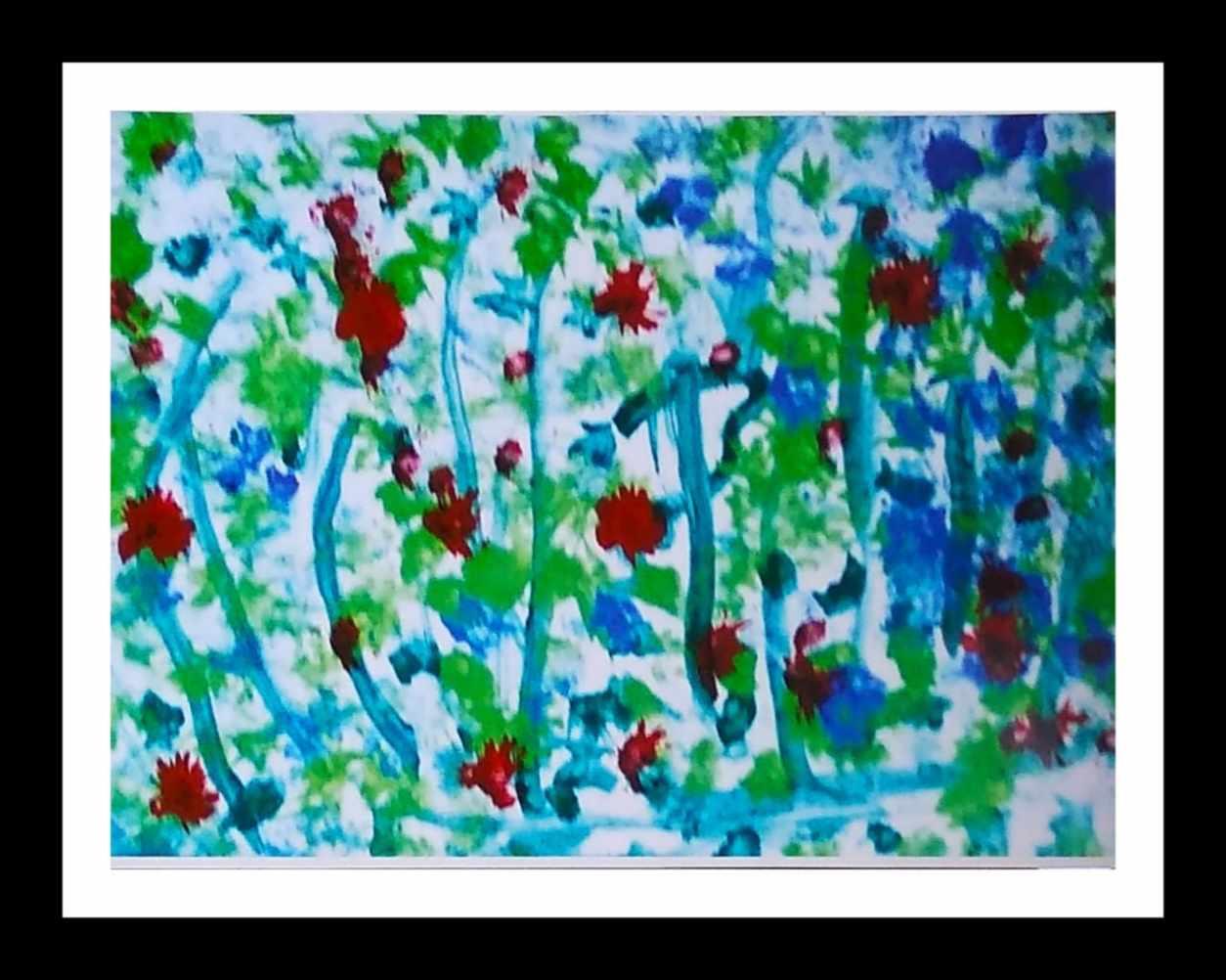 Bright Red Flowers Slider 1/4