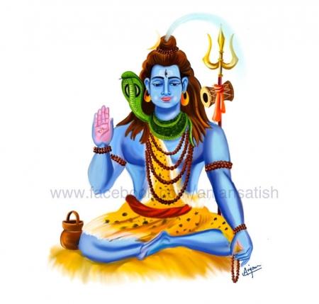 Lord Shiva Slider 1/4