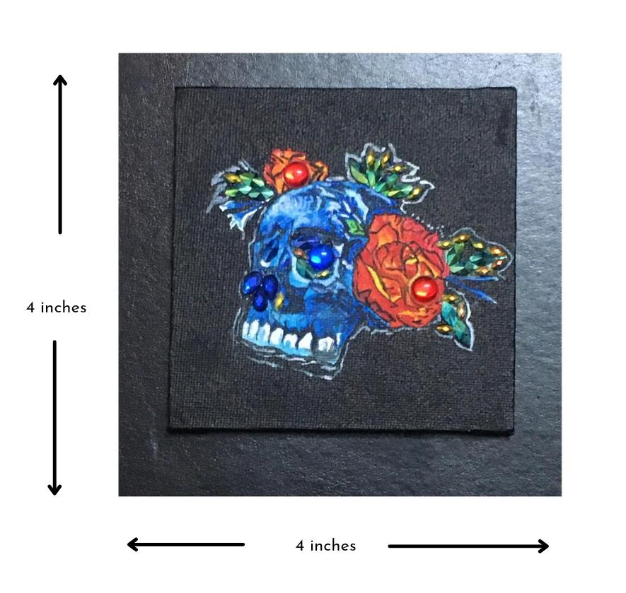 Skull &  Flowers Slider 2/3