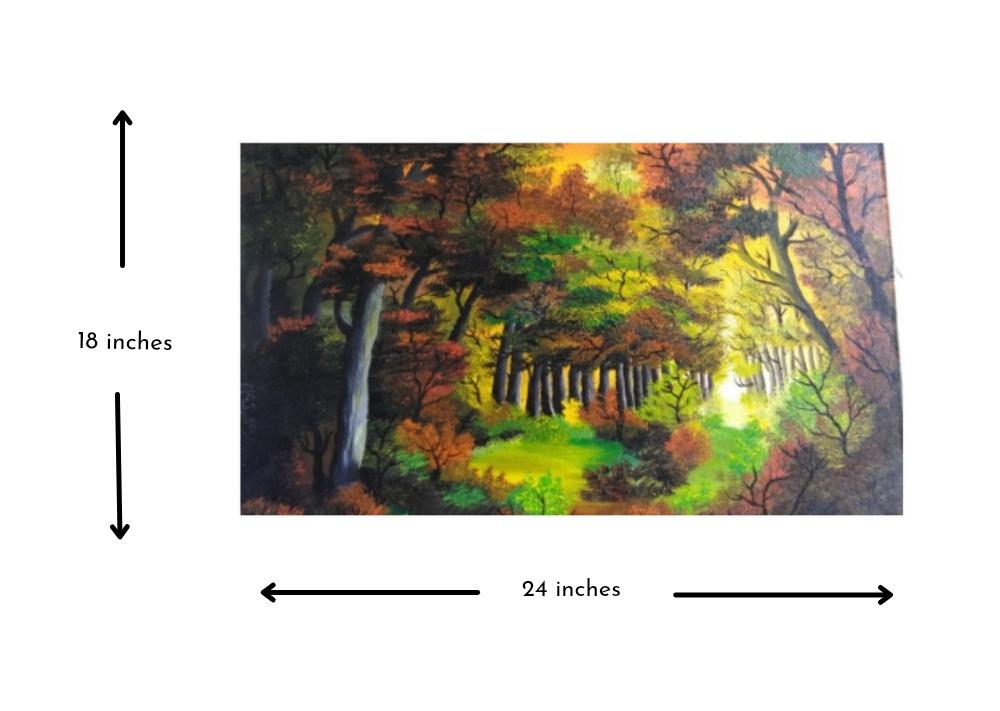 Warm hues of forest Slider 2/3