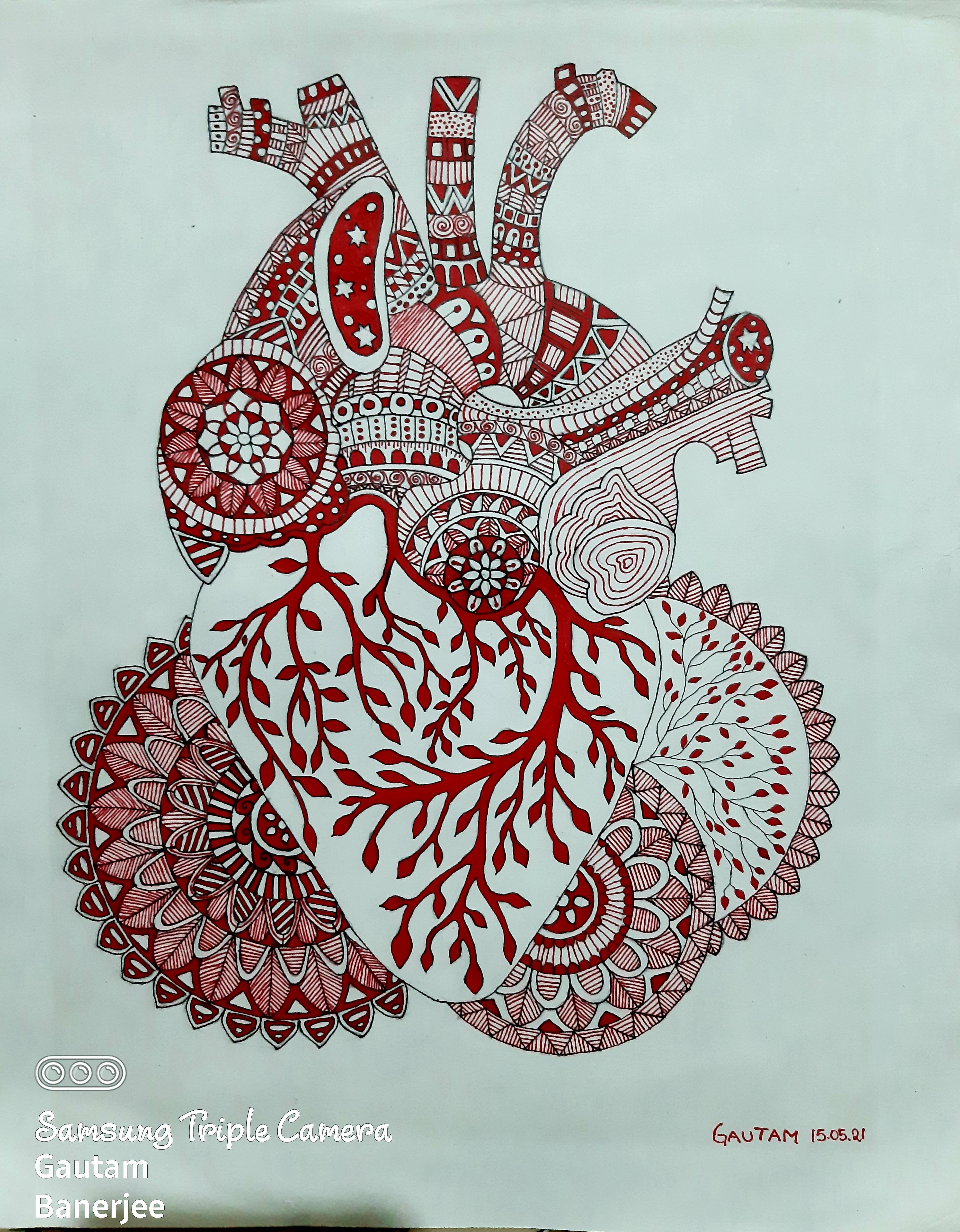 Red Heart Slider 1/2