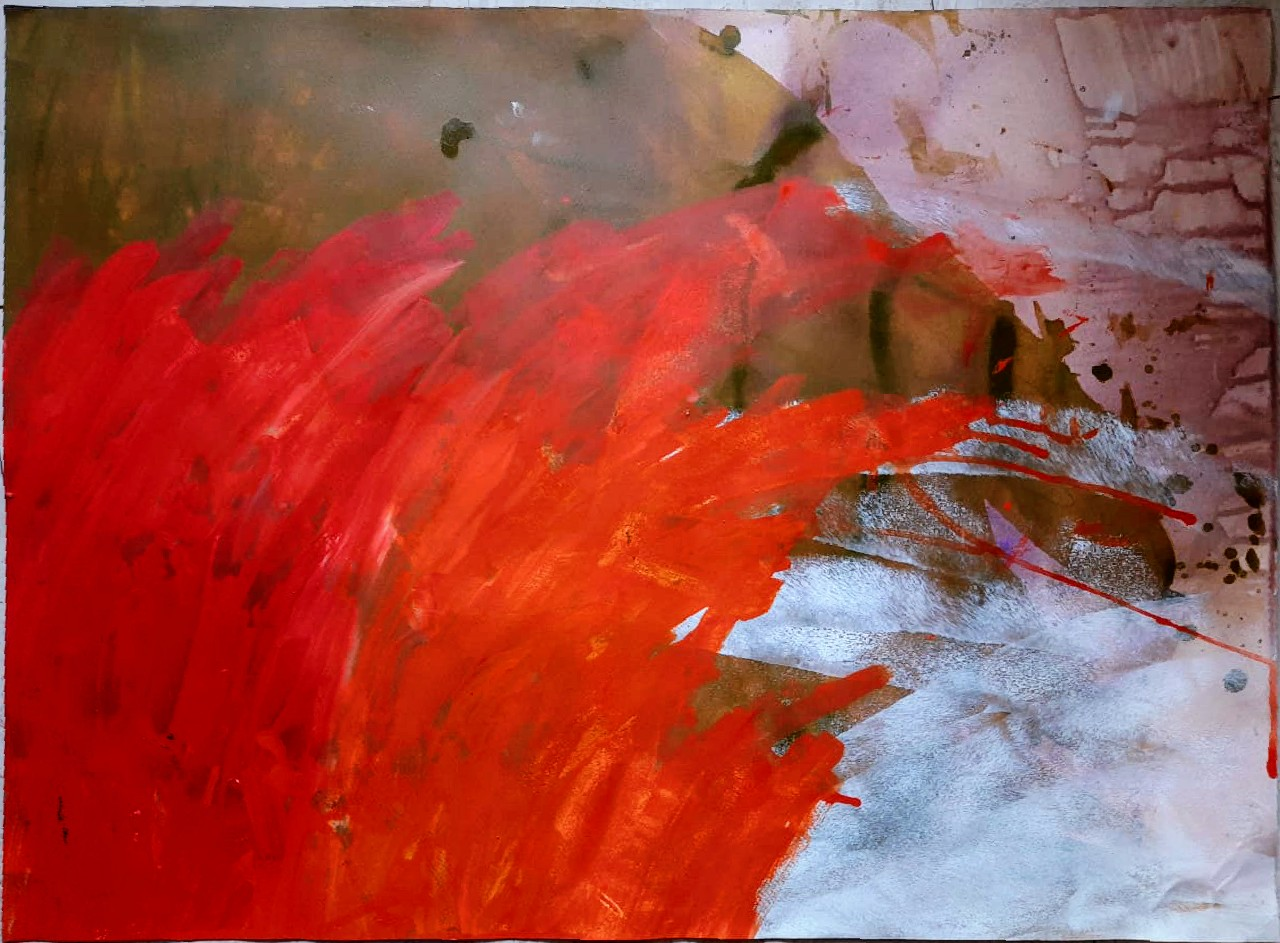 Orangish Red Slider 1/1