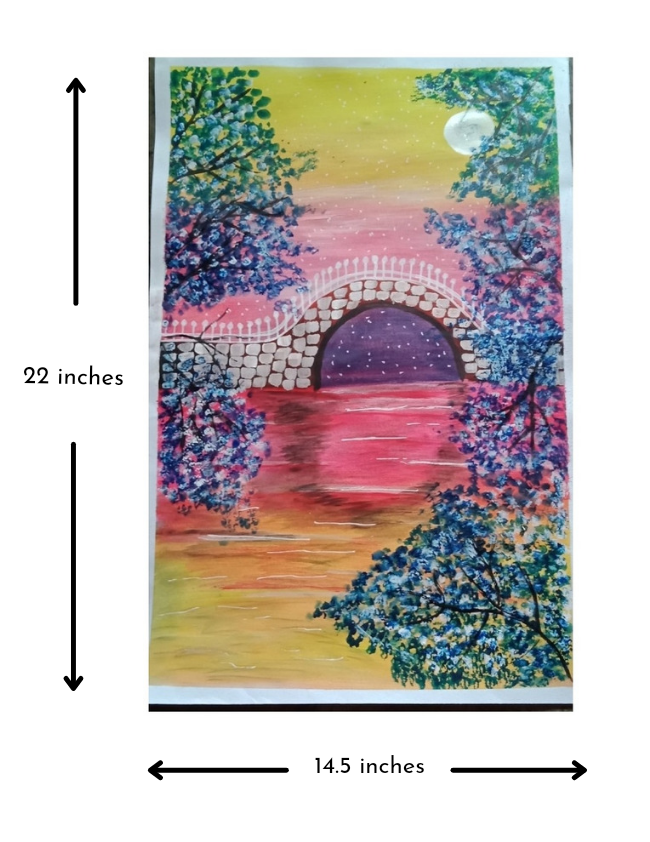 Moonlight & cherry blossoms Slider 2/3
