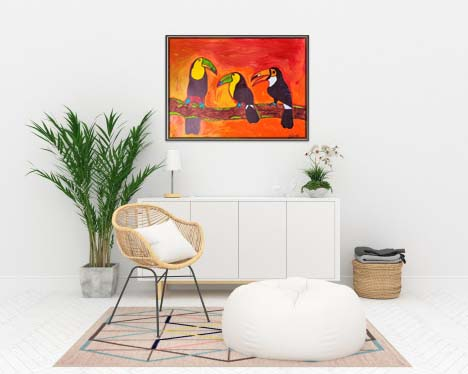 Toucans in a meeting Slider 2/4