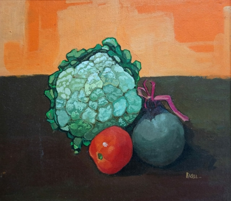 Cauliflower, Beetroot and Tomato