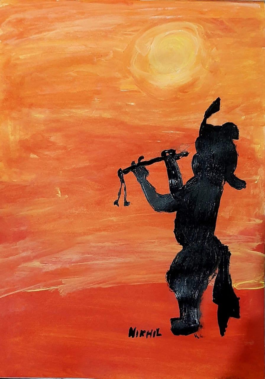 Krishna: The musician Slider 1/1