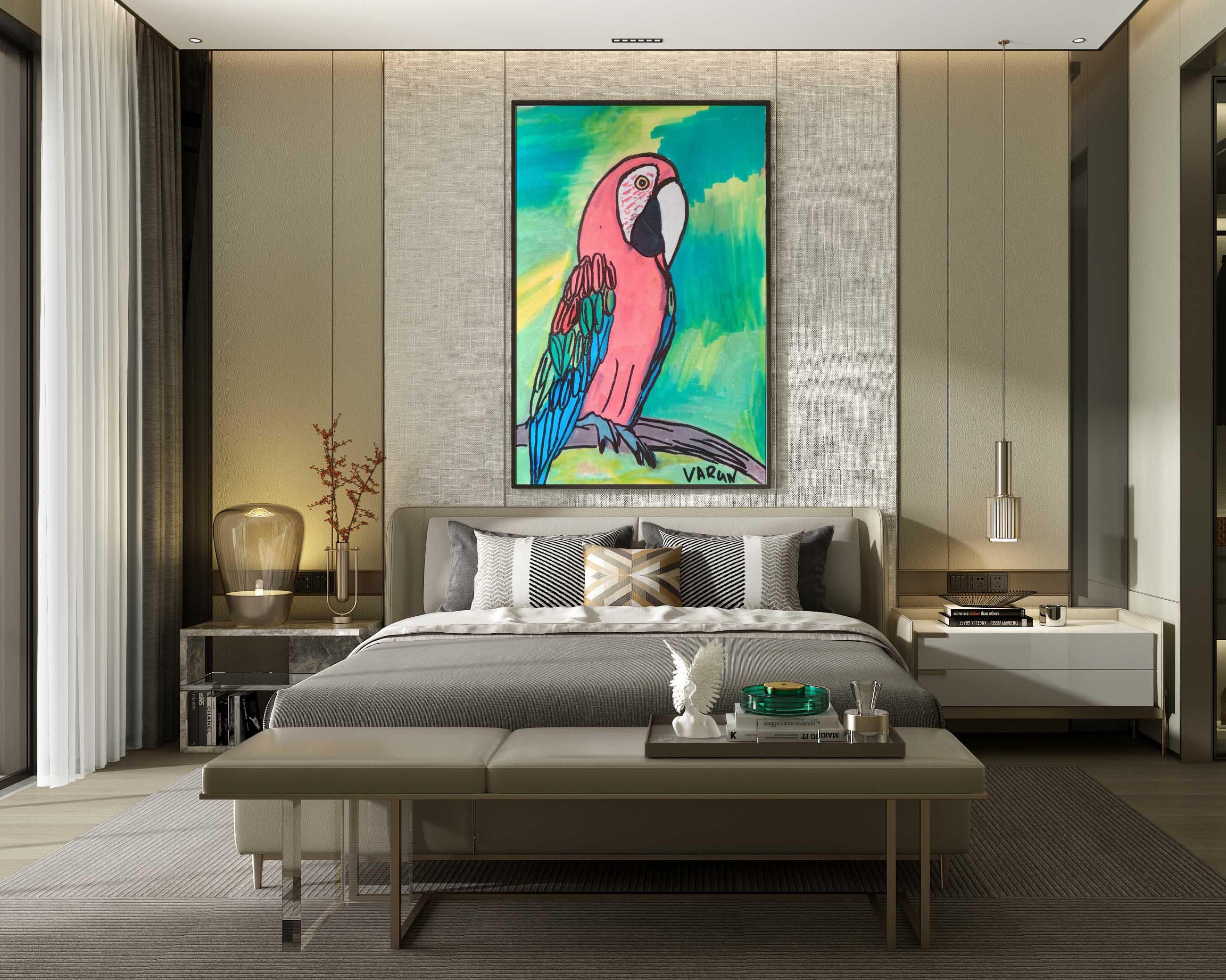 Scarlet Macaw Slider 2/4