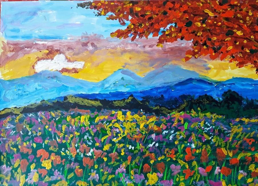 Flowering Valley Slider 1/4
