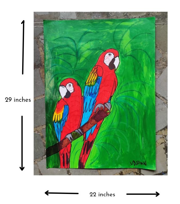 Scarlet Macaws Slider 3/4