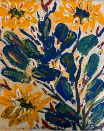 Flowers on Cactus Slider 1/3