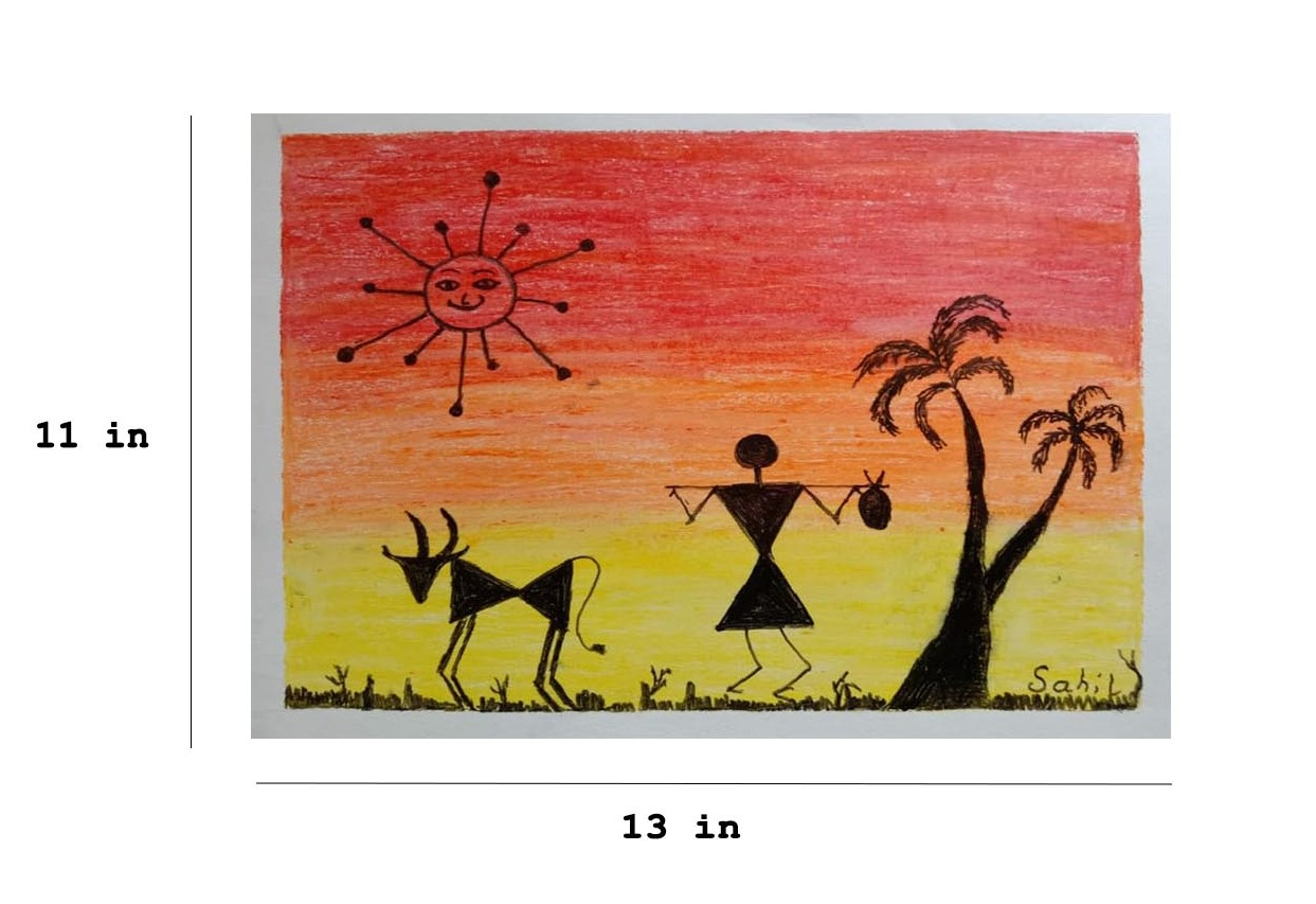 Warli Painting Slider 3/4