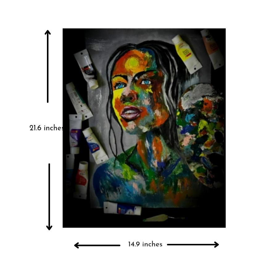 Abstract fantasy Woman Portrait Slider 2/3