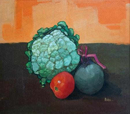 Cauliflower, Beetroot and Tomato Slider 1/4