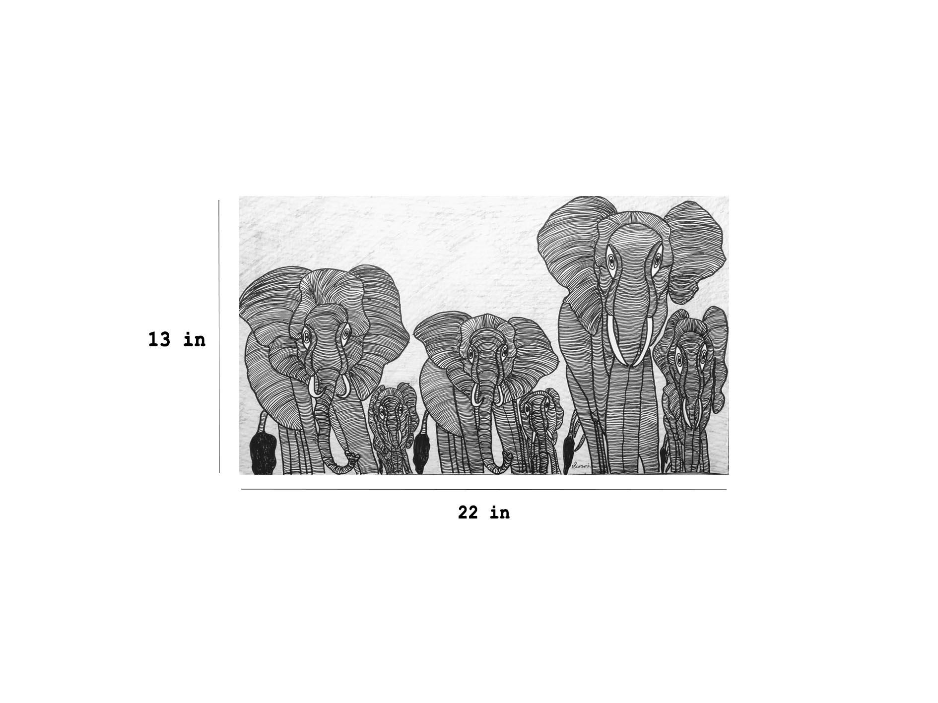 Elephants Slider 3/4