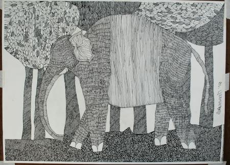 Elephant Slider 1/4