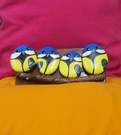 Birds Set- yellow Slider 1/1