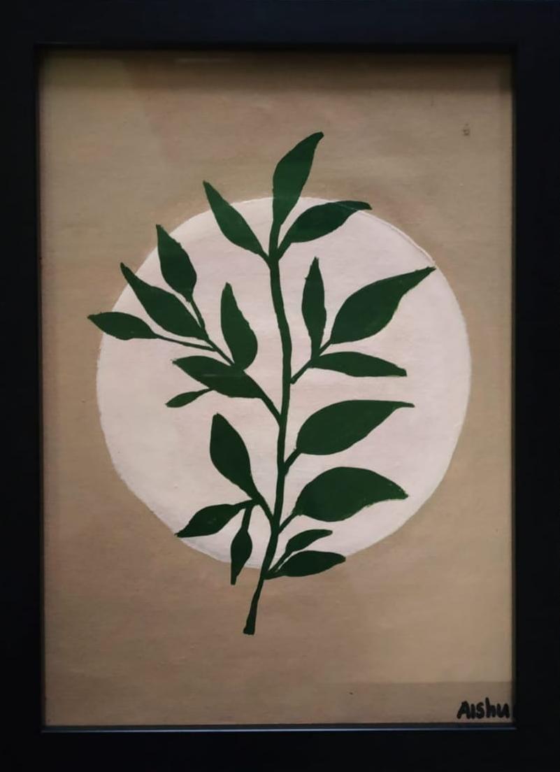 Boho Leaf Art Slider 1/1