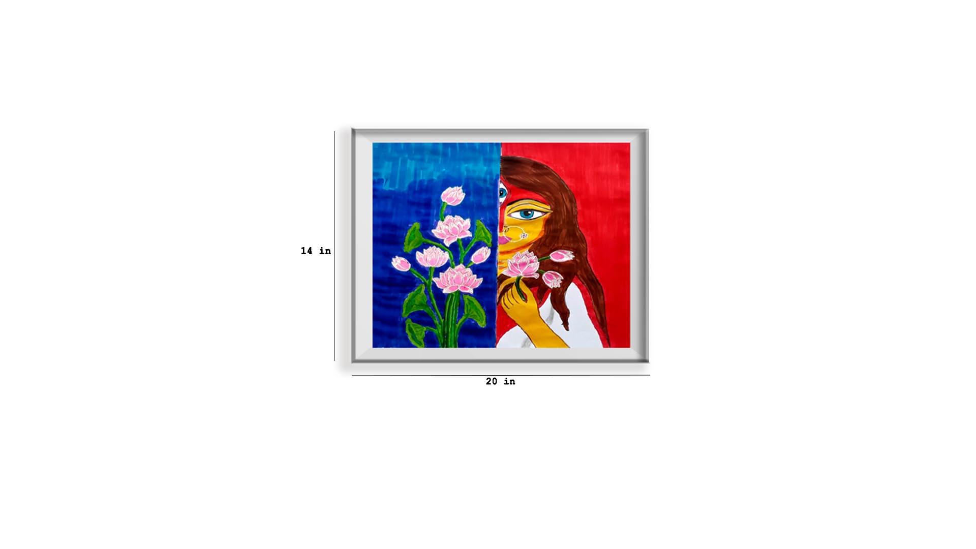 Flower and the Goddess Slider 4/5