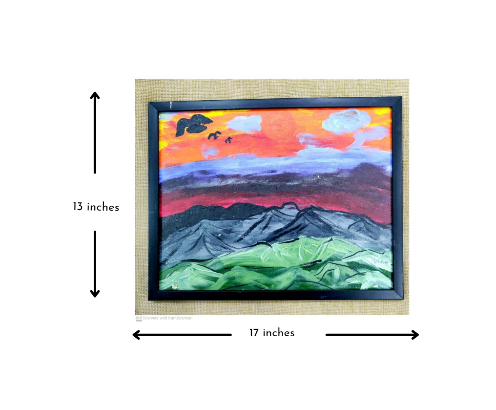 Volcanic Landscape Slider 3/4