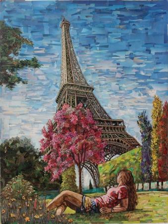 Eiffel Tower Garden Slider 1/5
