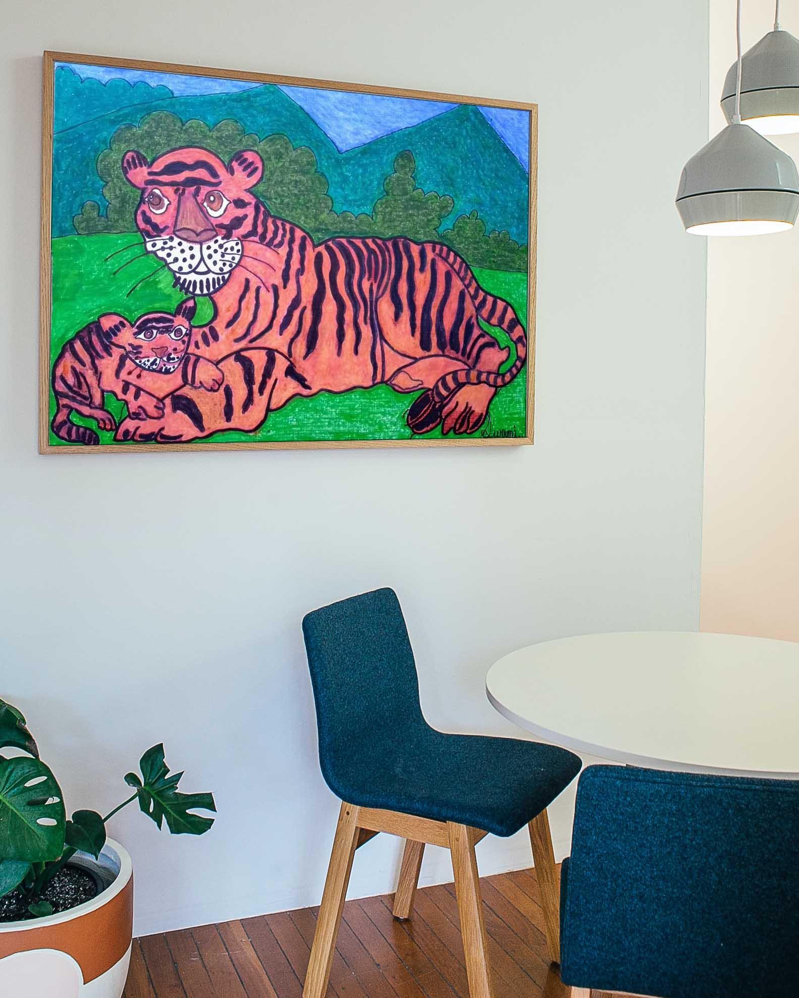 Tiger & Cub Slider 2/4